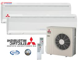 20000 BTU Mitsubishi MR.SLIM Ductless Mini Split Air Conditi