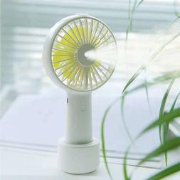 2000mAh <font><b>Portable</b></font> Water Spray Mist Fan El