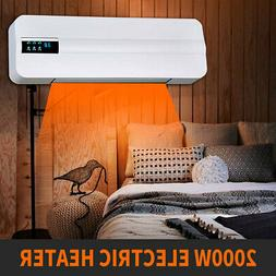 2000W 2 in 1 Wall Mount Air Conditioner Fan Electric Heater