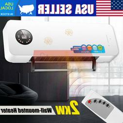 2000W Wall Mounted Heater Space Heating Air Conditioner Dehu
