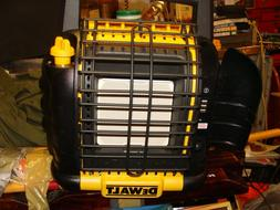 DeWalt 20V 12,000 BTU Portable Propane Heater w/fan, light u