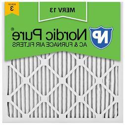 20x20x1 Air Filter Merv 13 Bulk Allergy Pleated Electrostati