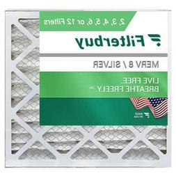 FilterBuy 20x20x1, Pleated HVAC AC Furnace Air Filter, MERV