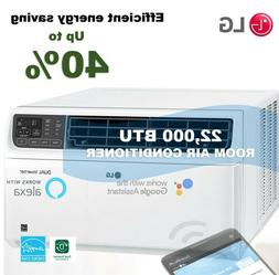 LG 22000 BTU DUAL Inverter Smart Wi-Fi Enabled Window Air Co