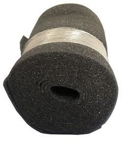 "24"" Filter Media Roll, 1/4""x25 ft., Foam AIR HANDLER 5W913"