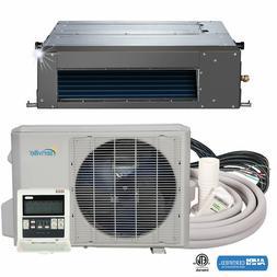 18000 BTU Concealed Duct Mini Split Air Conditioner and Heat