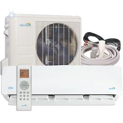 24000 BTU Mini Split Air Conditioner with Heat Pump Remote a