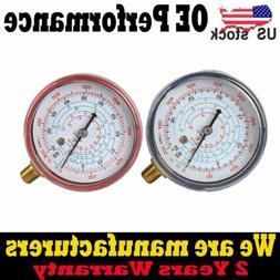 2pcs Air Conditioner R410A R134A R22 Refrigerant Low High Pr