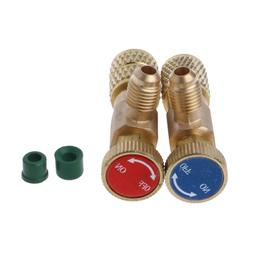 2pcs Safety Valve <font><b>R410A</b></font> R22 Air Conditio