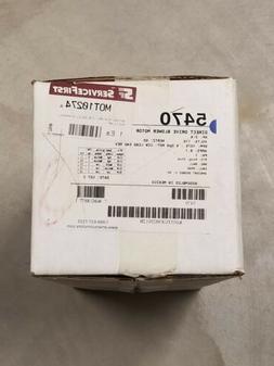 3/4 Multi HP Direct Drive Fan & Blower 5470 Rescue Motor, 10