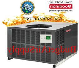 3 Ton Goodman 14 seer Gas/Elec Package Unit 81% 80K Btu GPG1