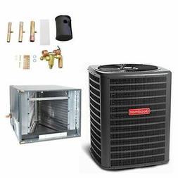 Goodman - 3.5 Ton Air Conditioner + Coil Kit - 13.0 SEER - 2