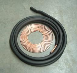 3/8 7/8 50' Insulated Line Set for Central Heating and Air C