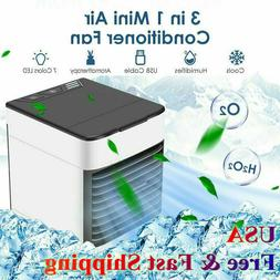 3 IN 1 AC MINI Air Conditioner Personal Cooling Fan Humidifi