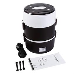 3 Tier Electric Heater Lunch Box Food Warmer Container Bento
