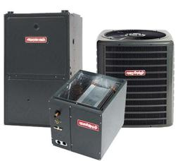 1.5 Ton Goodman 15 SEER R-410A 80% AFUE 60,000 BTU Two-Stage