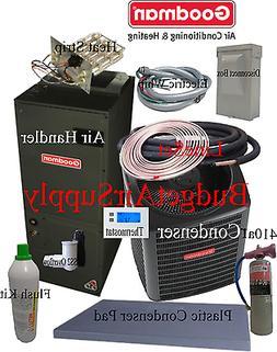 5 ton 14 SEER Goodman Heat Pump GSZ14060+ASPT61D+tx+FLUSH+41