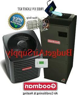 3 Ton Goodman A/C 16 Seer Air Conditioning Split System GSX1