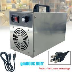 3000mg Ozone Generator Ozone Disinfection Machine 110V Home