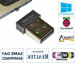 Realtek 300Mbps Mini Nano USB Wireless 802.11N Card WiFi Net