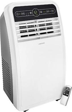 Insignia- 350 Sq. Ft. Portable Air Conditioner - White/Gray