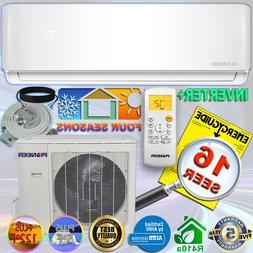 PIONEER Air Conditioner WYS036GMFI17RL Mini Split Heat Pump,