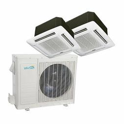 36000 BTU Dual Zone Ductless Mini Split Air Conditioner - Ce