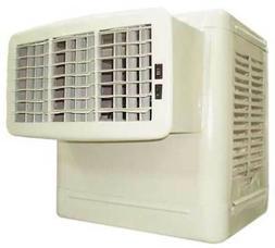 DAYTON 4RNN7 3800 cfm Window Evaporative Cooler, 1/3 hp, - 1