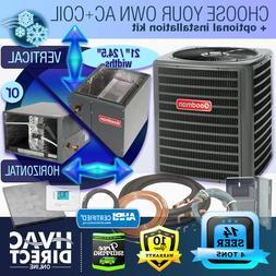 4 Ton 14 SEER Goodman Air Conditioner GSX140481 + Build Your