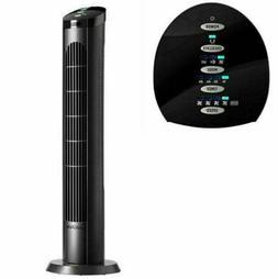 """Cascade 40"""" Tower Oscillation Fan 4Speed Ultra Quiet Auto Sh"""