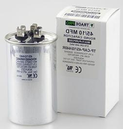 45/10 MFD 440 or 370 Volt Round Run Capacitor Replacement Tr