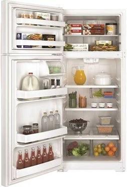GE 469492 Energy Star 17.5 Cu. Ft. Top Freezer Refrigerator