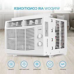 DELLA 5,000 BTU Window Mounted Air Conditioner Indoor 115V D