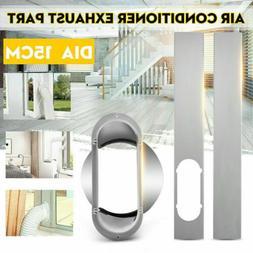 5.9''/15cm Window Slide Kit Plate Window Adaptor For Air Con