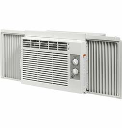 GE 5000 BTU Mechanical Air Conditioner, 115V, White, AET05LX