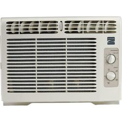 5000 BTU White Compact 115V Window-Mounted Air Conditioner-K