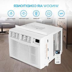 DELLA 6,000 BTU 250-sq ft 115 Volt Window Air Conditioner En