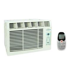6,000 BTU Window-Mounted Air Conditioner with LCD Remote, EN