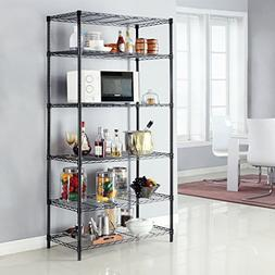LANGRIA 6 Tier Garage Shelving Shelving Unit, Storage Rack G