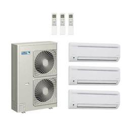 60,000 Btu 18.8 Seer Daikin 3-Zone Mini Split Heat Pump Syst