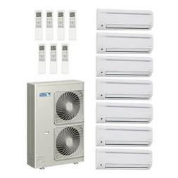 60,000 Btu 18.8 Seer Daikin 7-Zone Mini Split Heat Pump Syst