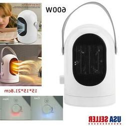 600W Mini Portable Electric Heater & Cooler Home Travel Offi