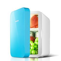 6L Car Mini Fridge Portable Refrigerator Low Noise Cooler <f