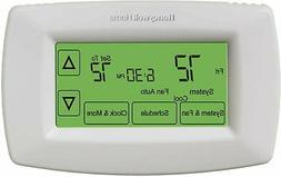 Honeywell 7 Day Programmable Touchscreen Display Thermostat