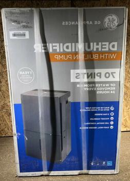 GE 70 Pint Dehumidifier w/ Built-In Pump APER70LW -NEW-
