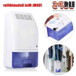 700ML Portable Mini Dehumidifier Electric Quiet Air Dryer fo