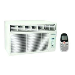 8,000 BTU 115-Volt Window-Mounted Air Conditioner with Follo