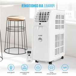 8000BTU Portable Air Conditioner 86 Pint Dehumidifier Fan Wi