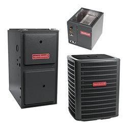 80,000 BTU 96% Gas Furnace and 2.5 ton 13 SEER Air Condition
