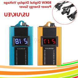 80KW Digital Display Voltage Electricity Power Energy Saver
